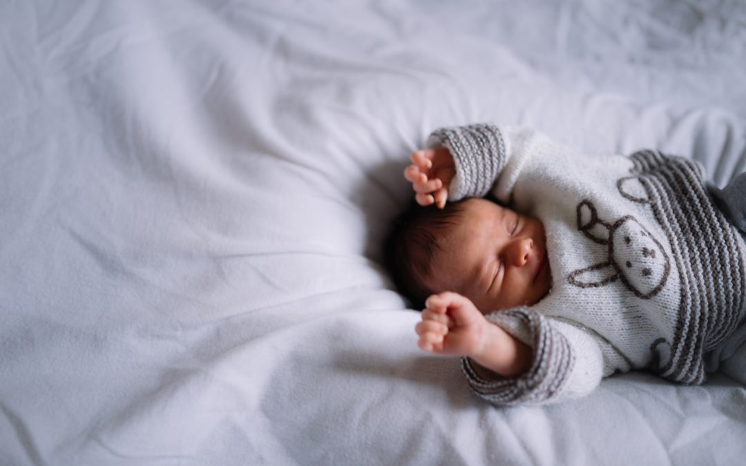 Augustin, a newborn session at home