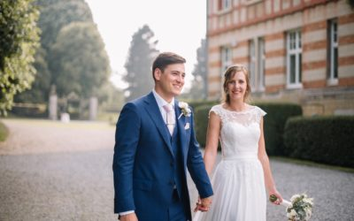 Emilie and Andrew, a multicultural wedding in Belgium