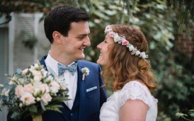 Alexia et Romain, un mariage en Belgique à La Howarderie