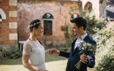 Elise and Samuel, a wedding at la Ferme de Saint Humbert