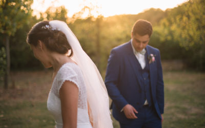 Claire and Pierre, a wedding in Northern France at Les Pommerieux