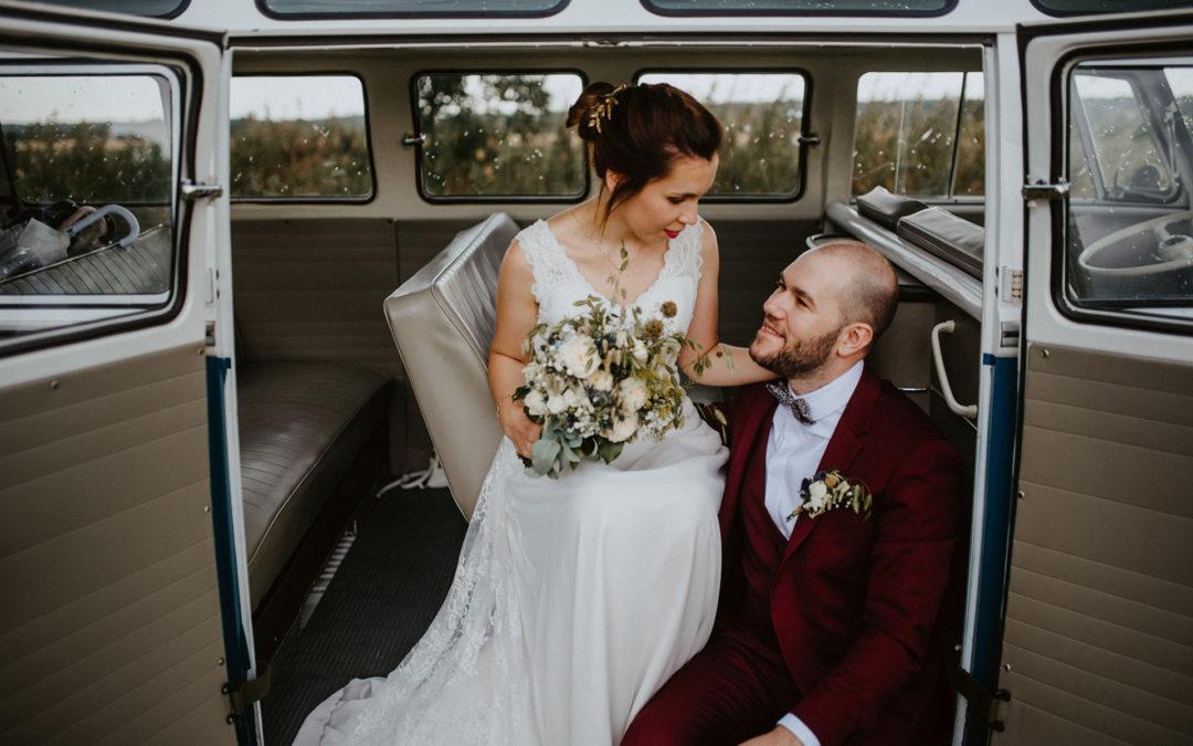 Julie and Florent, a belgian boho wedding