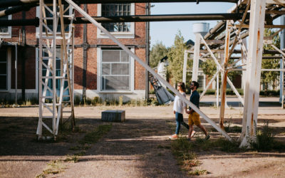 Claire et Nico, une séance engagement au milieu des terrils