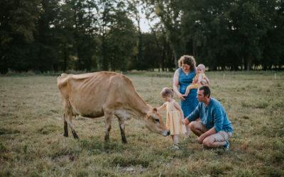Séance famille en forêt dans l'Aisne, près de Laon