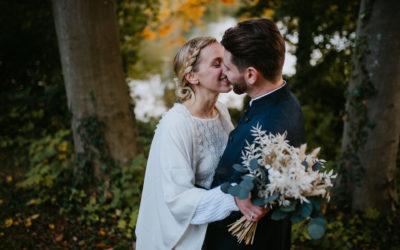 Justine et Jordane, un mariage automnal au Domaine de Vadancourt dans l'Aisne